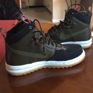 Nike LF1 Boots military Green, black, white trim